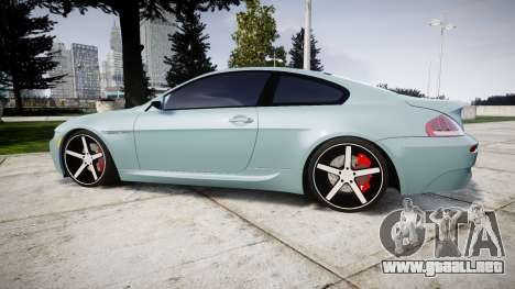 BMW M6 Vossen VVS CV3 para GTA 4 left