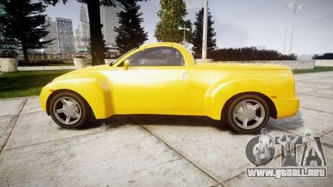 Chevrolet SSR para GTA 4 left