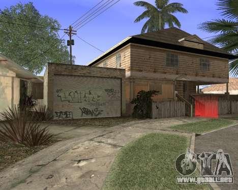 La textura de Los Santos de GTA 5 para GTA San Andreas quinta pantalla