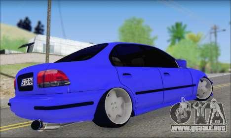Honda Civic 34 TS 9640 INDIGO para GTA San Andreas left