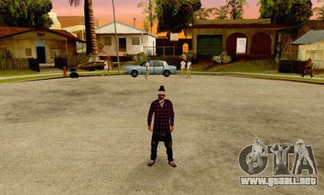 The Ballas Gang Skin Pack para GTA San Andreas tercera pantalla
