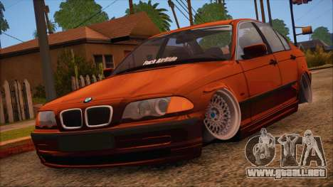 BMW M3 E46 Sedan para GTA San Andreas