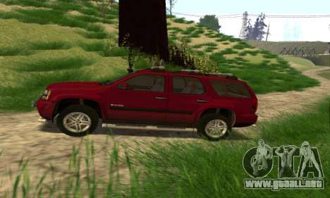 Chevrolet Tahoe Final para GTA San Andreas left