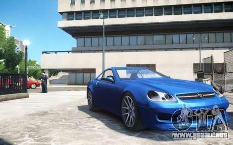 Benefactor Feltzer Grey Series v3 para GTA 4