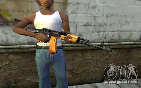 AKC74 con la Culata para GTA San Andreas tercera pantalla