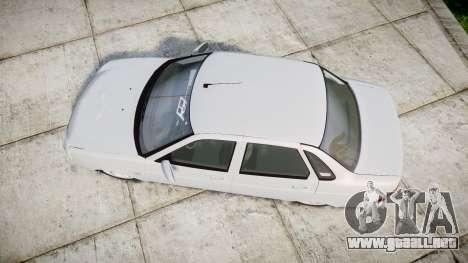 ВАЗ-Lada 2170 Priora de Dubai para GTA 4 visión correcta