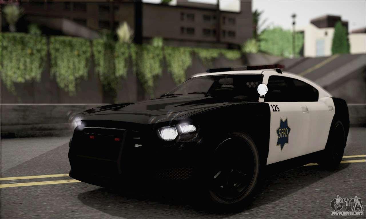 Bravado Buffalo S Police Edition Ivf Para Gta San Andreas