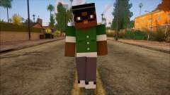 Bigsmoke Minecraft Skin para GTA San Andreas