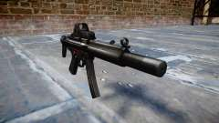 Pistola de MP5SD EOTHS CS b de destino para GTA 4