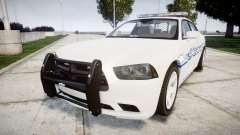Dodge Charger RT [ELS] Liberty County Sheriff para GTA 4