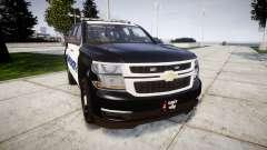 Chevrolet Tahoe 2015 Sheriff [ELS] para GTA 4