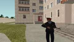 El sargento de la policía