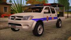 Toyota HiLux Philippine Police Car 2010