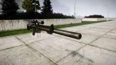 American rifle de francotirador SR-25 para GTA 4
