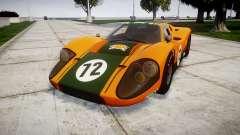 Ford GT40 Mark IV 1967 PJ Mudino 72 para GTA 4