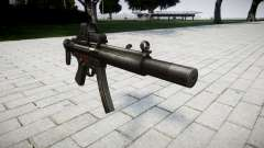 Pistola de MP5SD EOTHS CS para GTA 4