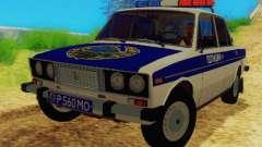VAZ-2106 de la Policía