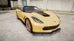 Chevrolet Corvette Z06 2015 TireMi5 para GTA 4