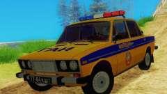 VAZ 2106 GAI para GTA San Andreas