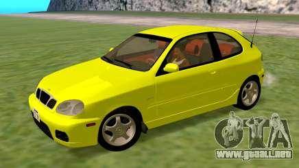 Daewoo Lanos Sport NOSOTROS 2001 para GTA San Andreas