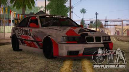 BMW E36 Coupe Bridgestone para GTA San Andreas