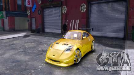 Nissan 350Z Fast And Furious Tokyo Drift para GTA 4