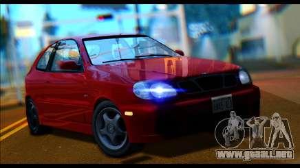 Daewoo Lanos Sport US 2001 para GTA San Andreas