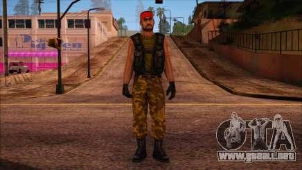 Guerilla from Counter Strike Condition Zero para GTA San Andreas