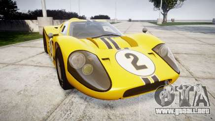 Ford GT40 Mark IV 1967 PJ 2 para GTA 4