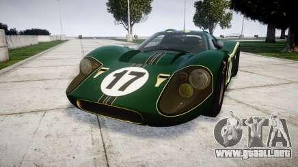 Ford GT40 Mark IV 1967 PJ 17 para GTA 4