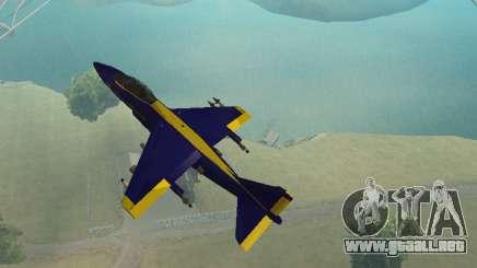 BlueAngels Hydra para GTA San Andreas