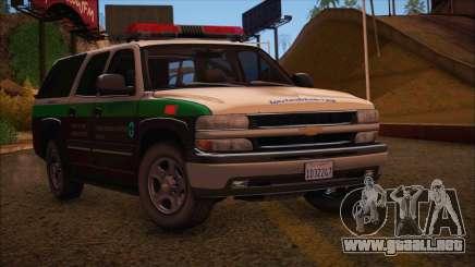 Tierra Robada Armed Forces Border Patrol para GTA San Andreas