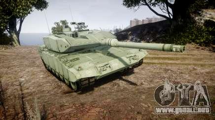 Leopard 2A7 GR Green para GTA 4