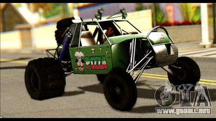 Buggy Fireball from Fireburst para GTA San Andreas