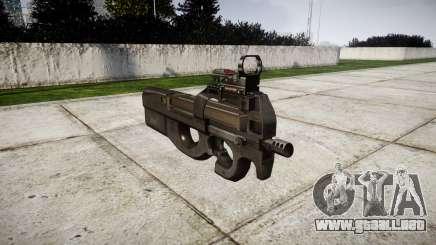 Belga subfusil FN P90 para GTA 4
