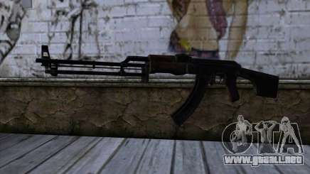 AK47 from State of Decay para GTA San Andreas