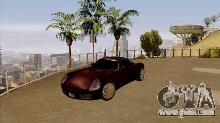 Stinger coupe para GTA San Andreas