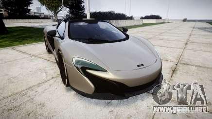 McLaren 650S Spider 2014 [EPM] v2.0 para GTA 4