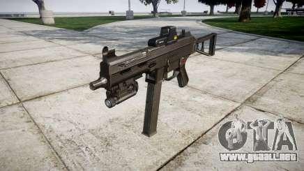 Alemán subametralladora HK UMP 45 de destino para GTA 4