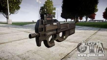 Belga subfusil FN P90 destino para GTA 4