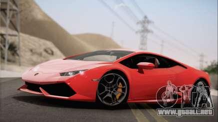Lamborghini Huracan LP610-4 2015 Rim para GTA San Andreas