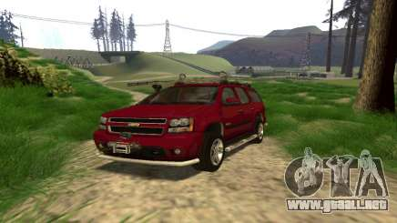 Chevrolet Tahoe Final para GTA San Andreas