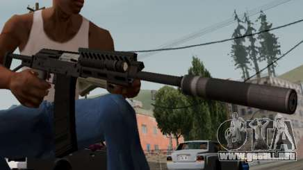 Heavy Shotgun GTA 5 (1.17 update) para GTA San Andreas