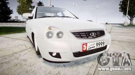 ВАЗ-Lada 2170 Priora de Dubai para GTA 4