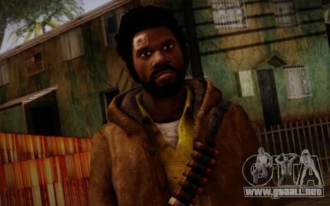 Louis from Left 4 Dead Beta para GTA San Andreas tercera pantalla