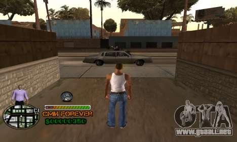C-HUD СМИ PARA SIEMPRE para GTA San Andreas