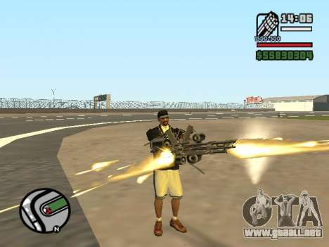 Doble propiedad de todas las armas para GTA San Andreas quinta pantalla