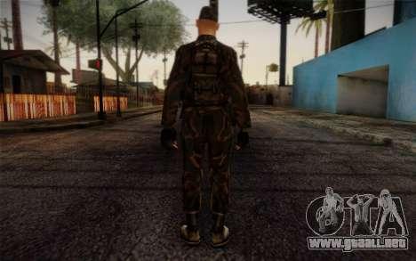 Soldier Skin 4 para GTA San Andreas segunda pantalla