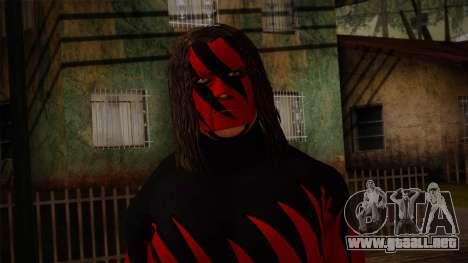 Kane Masked from  Smackdown Vs Raw para GTA San Andreas tercera pantalla