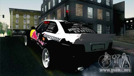 BMW M3 E36 Bridgestone v2 para GTA San Andreas left
